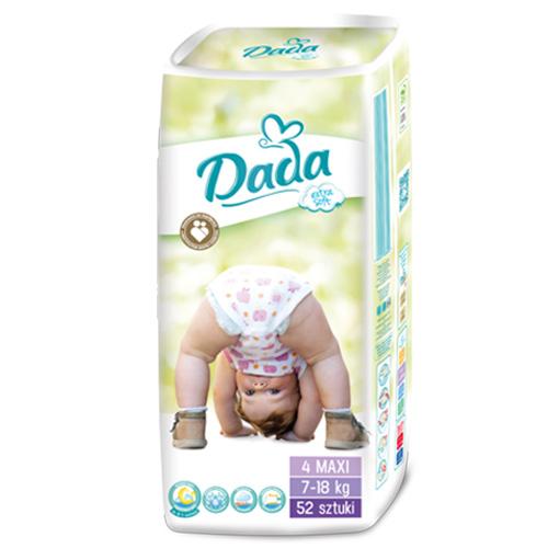 Dada Extra soft 4 MAXI - 52 шт.   7-18 кг - Польские подгузники DADA ... 779c2987638